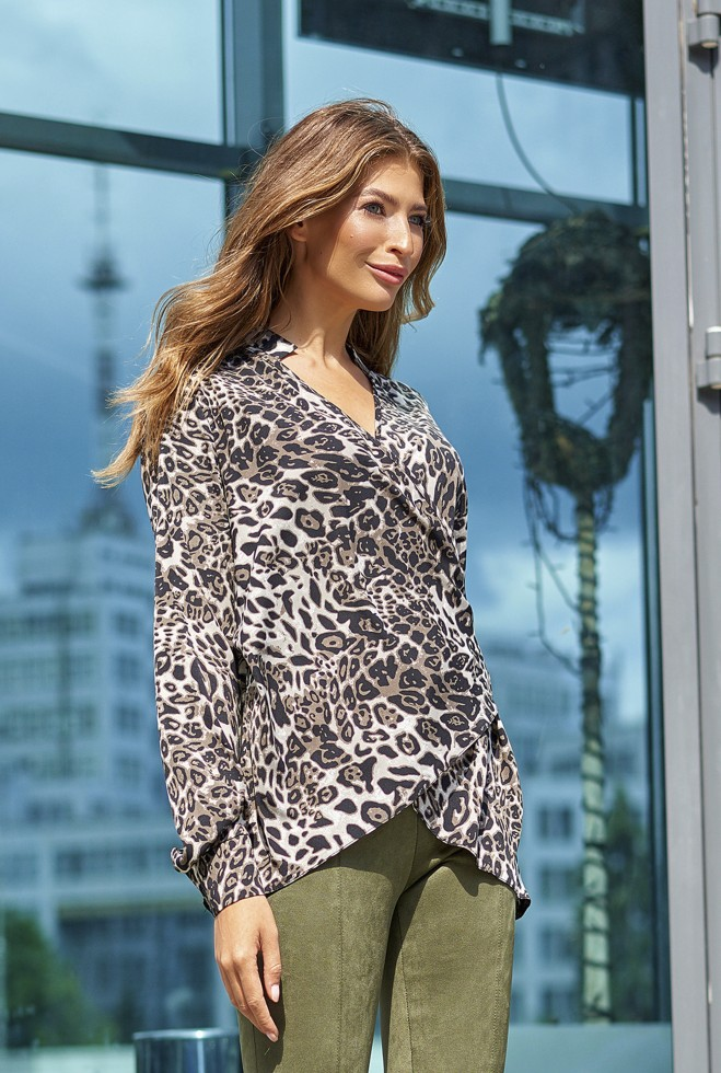 Блуза Кейли серый