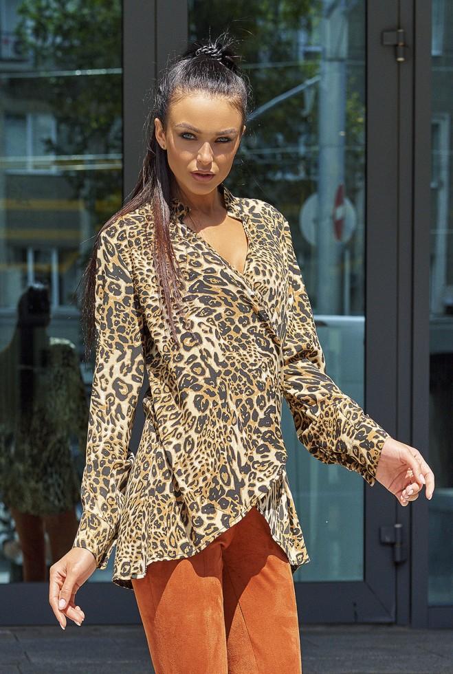 Блуза Кейли коричневый