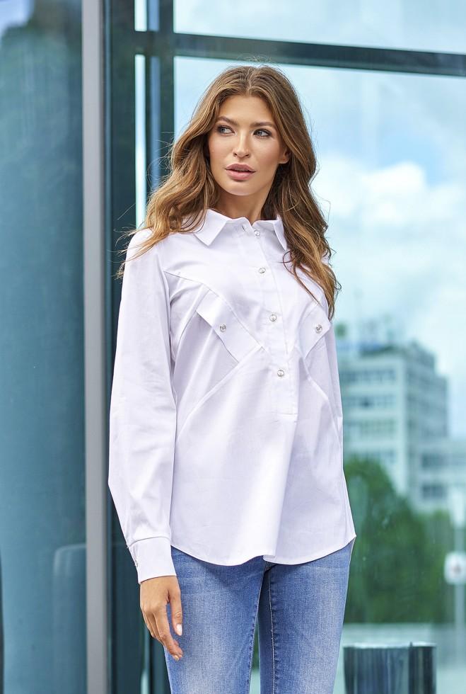 Рубашка Бонита белый Жадон
