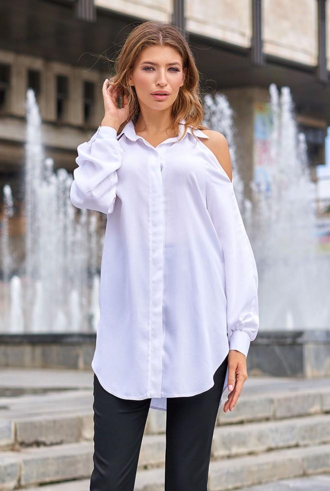 Блуза Айза молочный