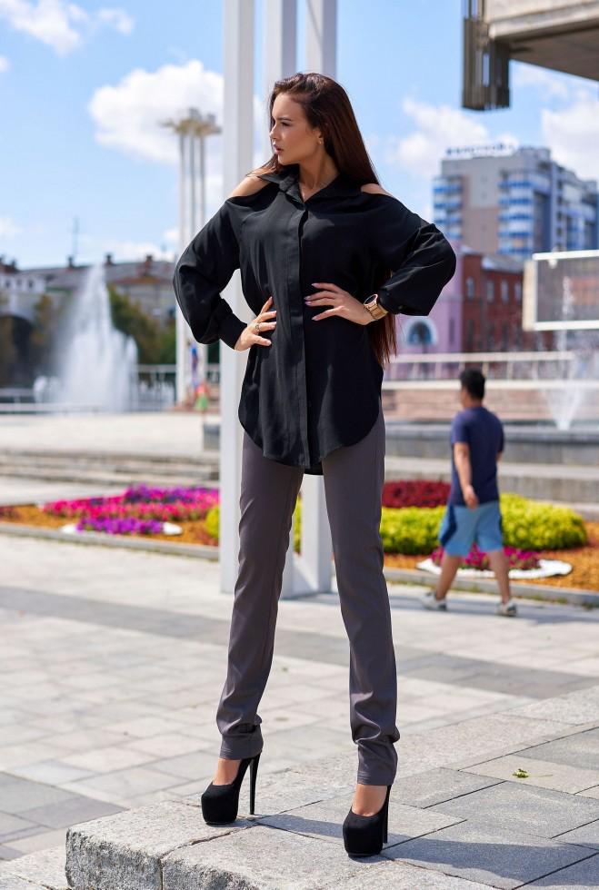 Блуза Айза черный
