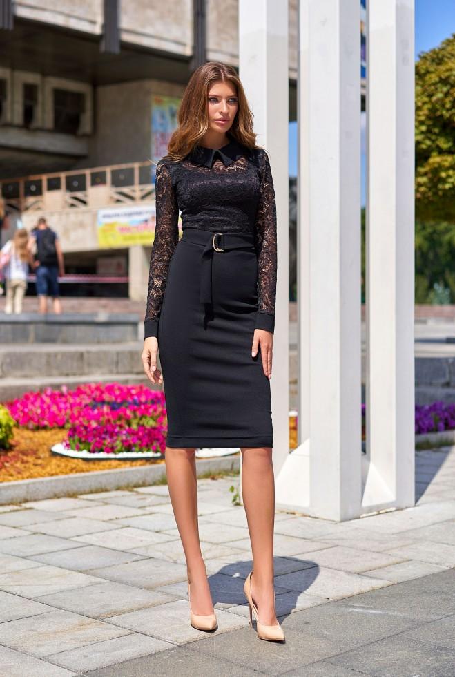 Платье Аврора  черный