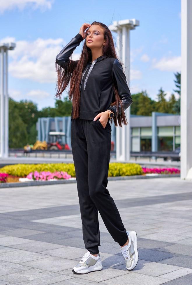Костюм Мишель черный
