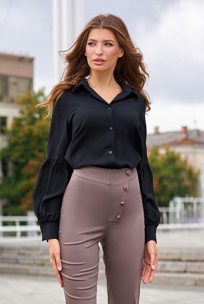 Рубашка Клара черный Жадон
