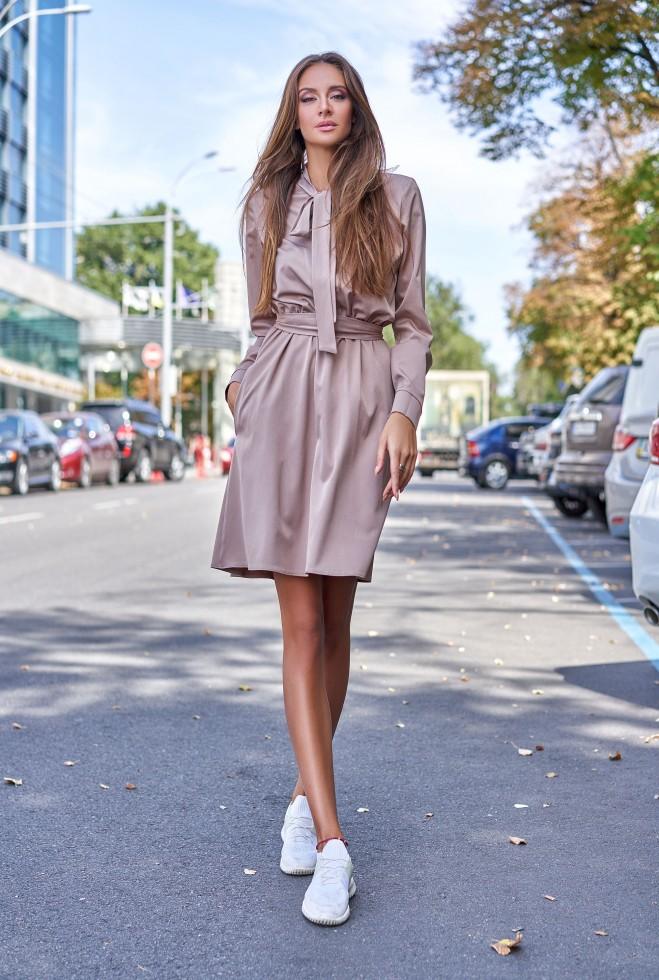 Платье Лалли бежевый