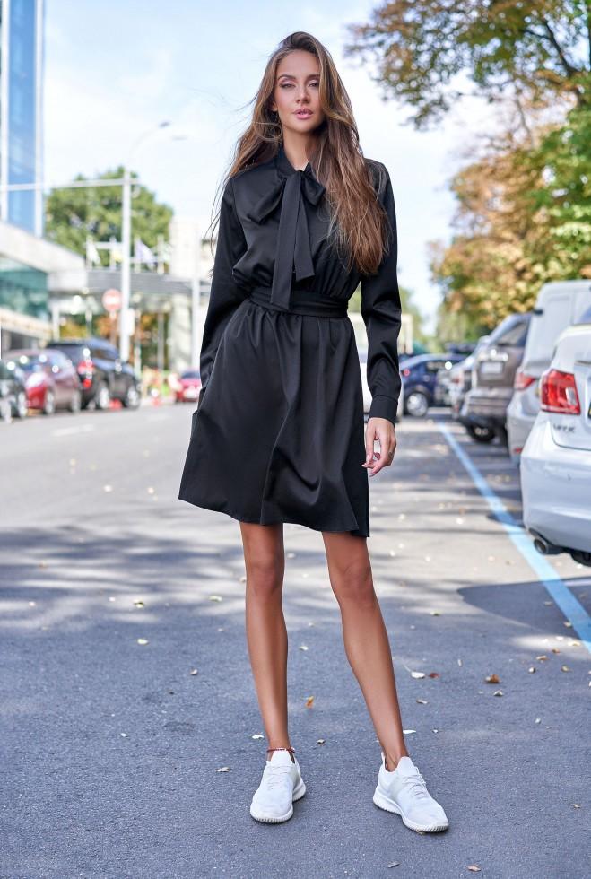 Платье Лалли черный