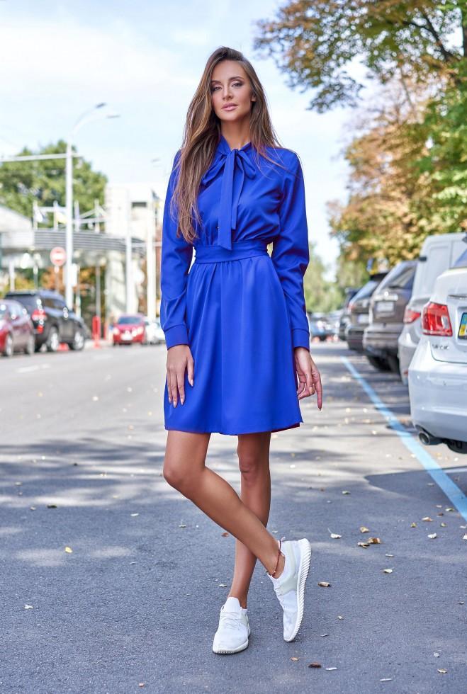 Платье Лалли электрик