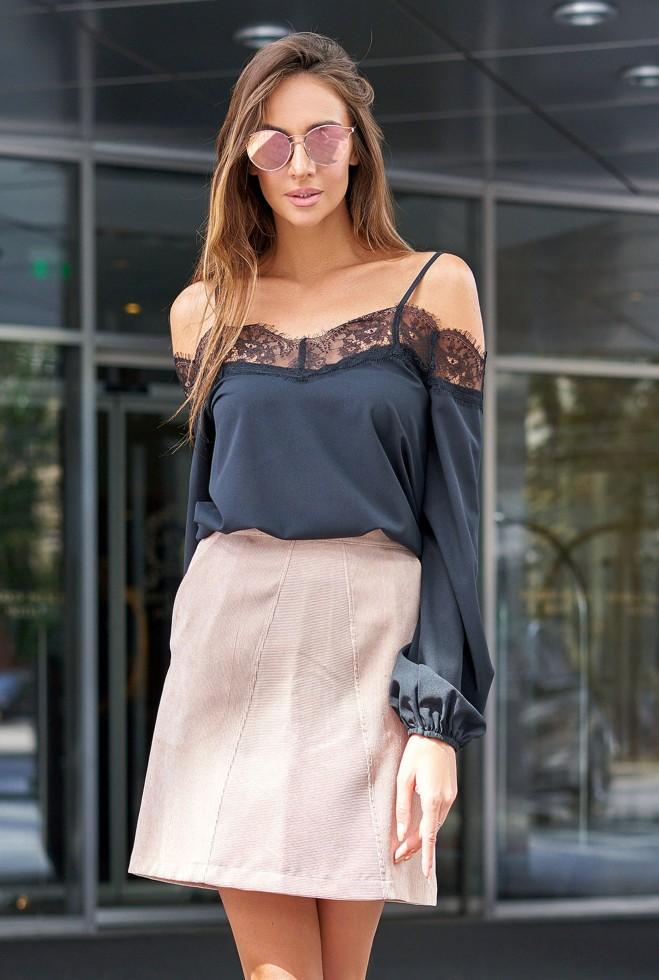 Блуза Паула черный