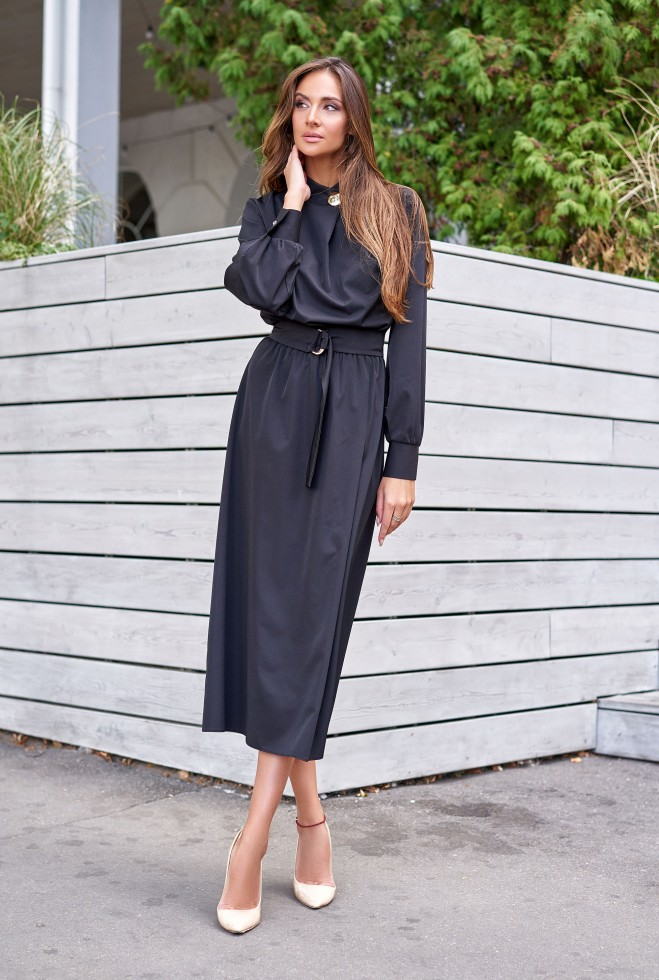Платье Сандра черный
