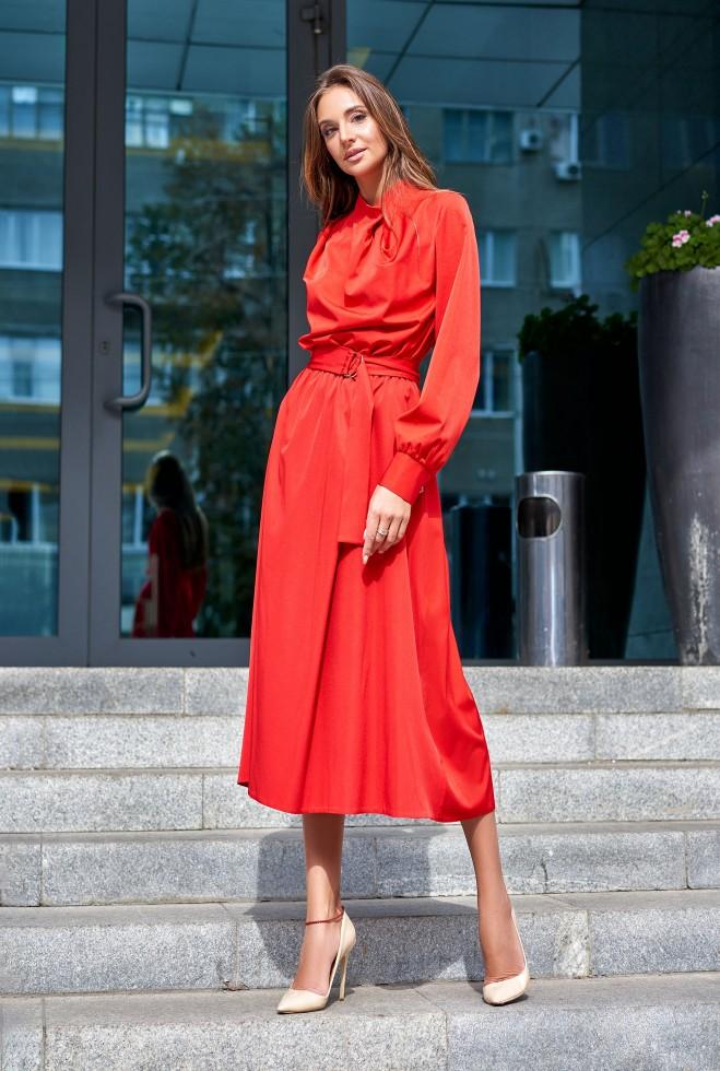 Платье Сандра красный