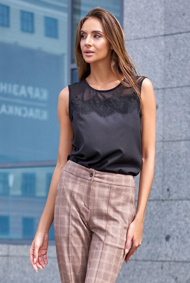 Блуза Сафина черный