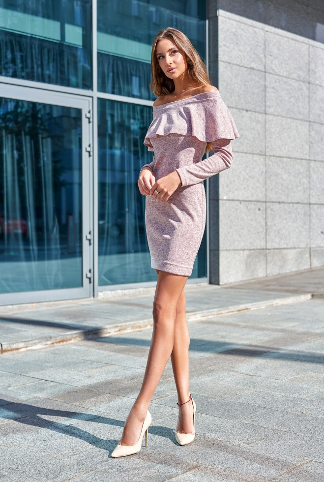 Платье Мика розовый