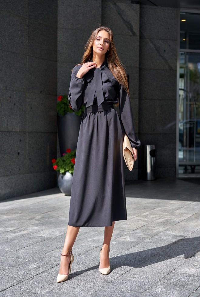 Платье Алиша черный