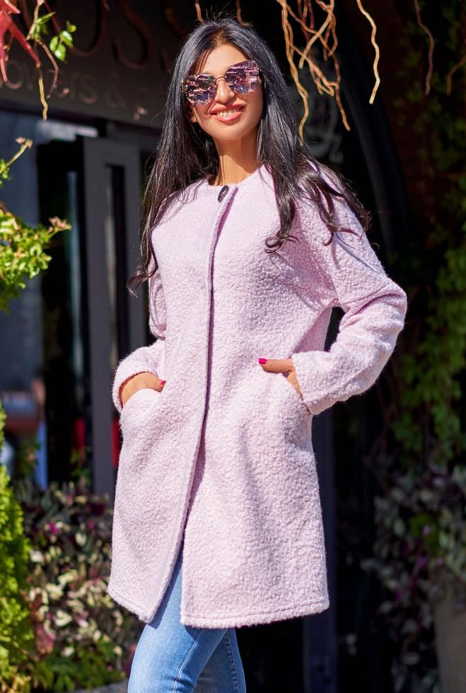 Облегченное пальто Верона розовый Жадон