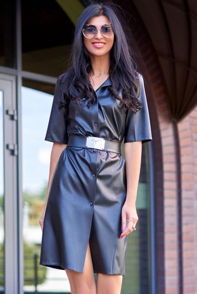 Платье Орнелла черный Жадон