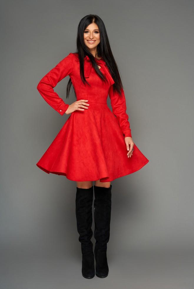 Платье Хайди красный