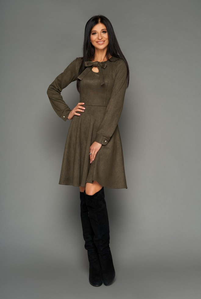 Платье Хайди хаки
