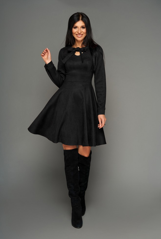 Платье Хайди черный