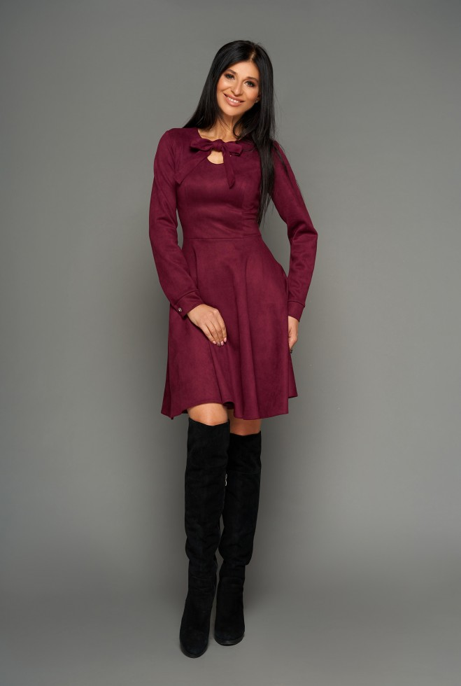 Платье Хайди слива