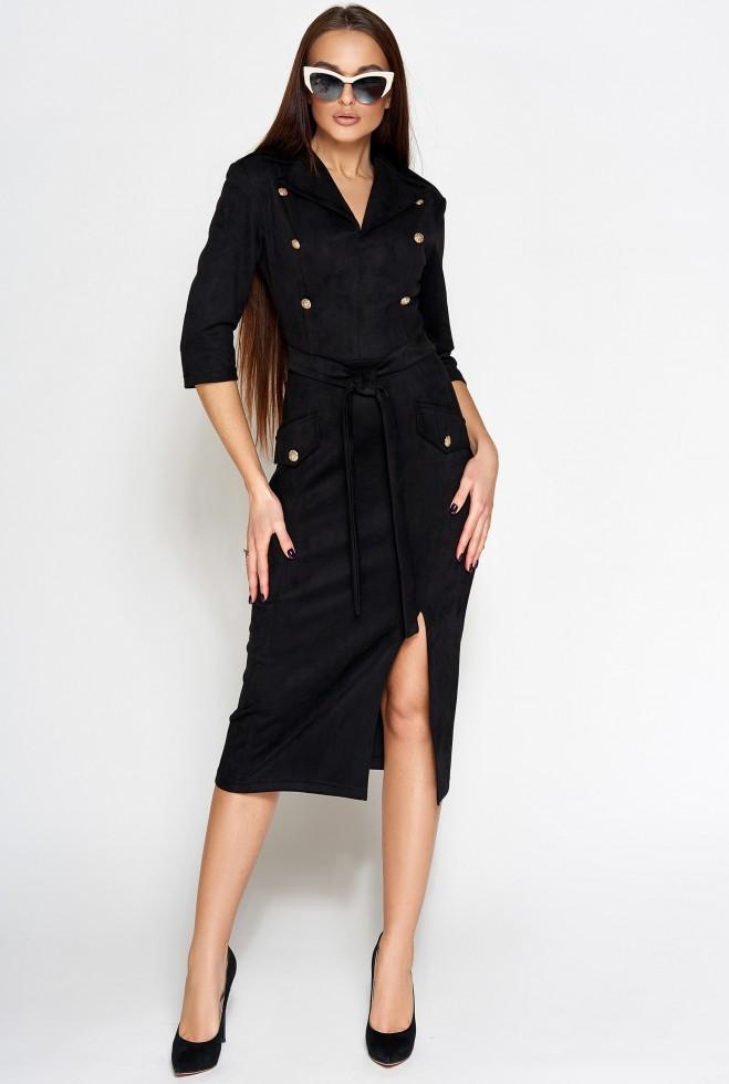 Платье Диана черный
