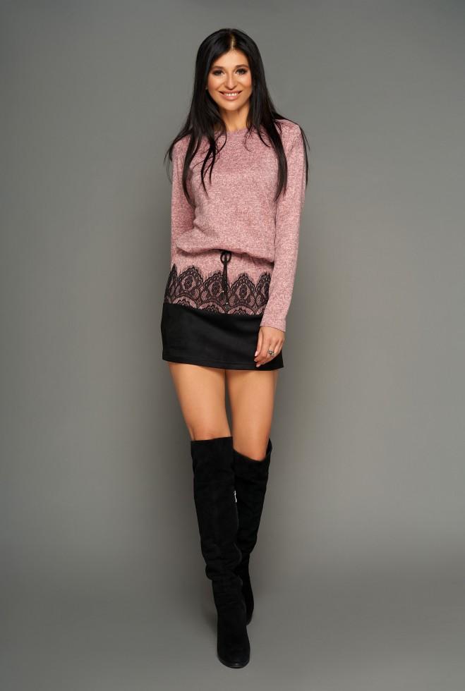 Платье-туника Раби розовый