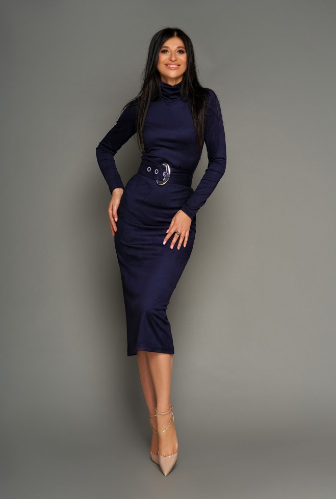 Платье Лорейн тёмно-синий