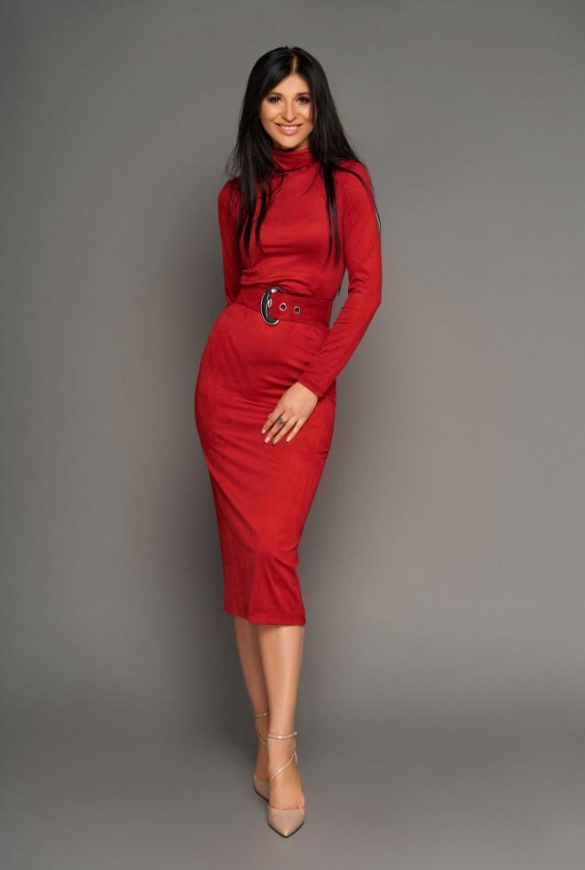 Платье Лорейн красный