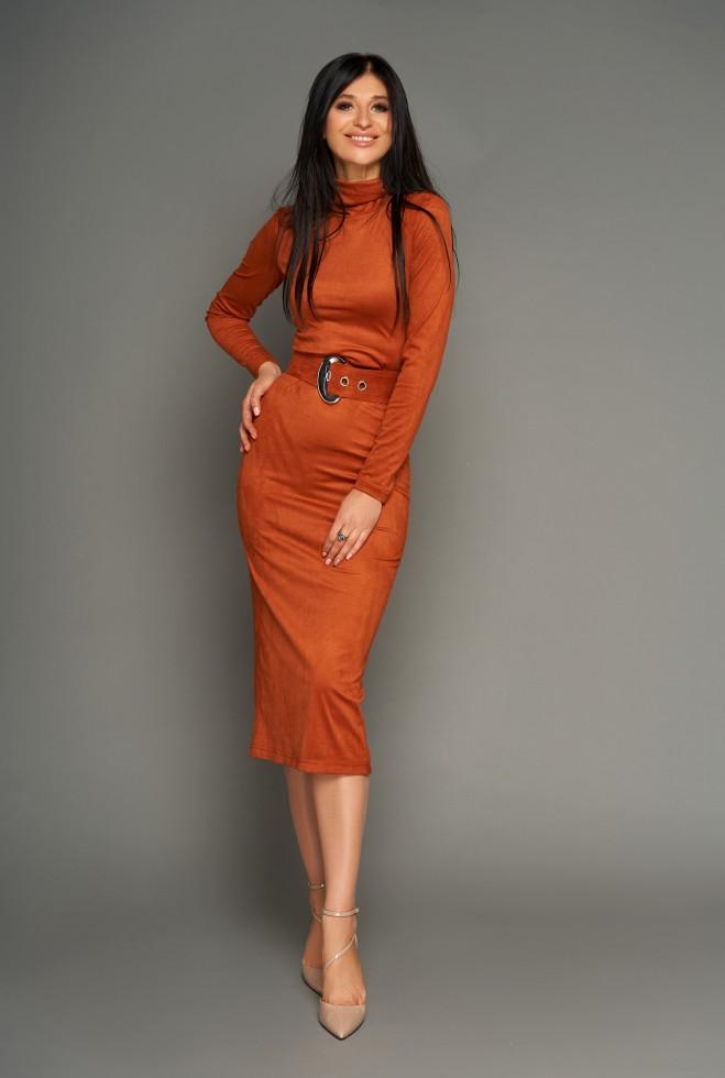 Платье Лорейн кирпичный