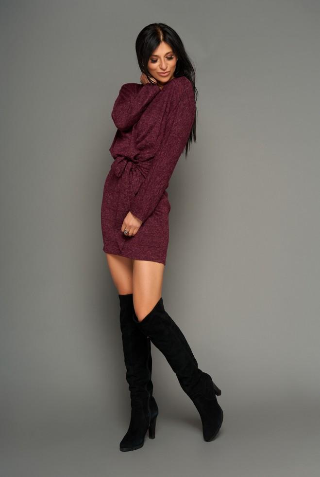 Платье Эльза бордовый