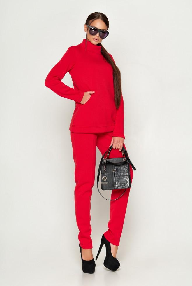 Прогулочный костюм Тейлор красный