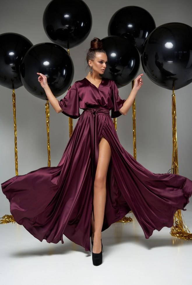Платье Ариада марсала Жадон