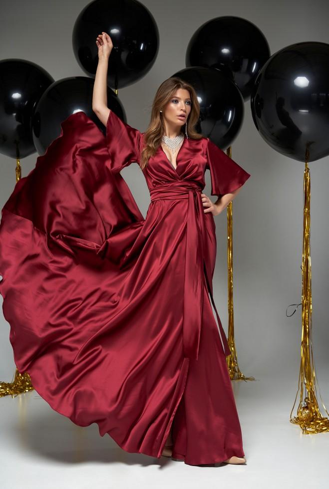 Платье Ариада винный
