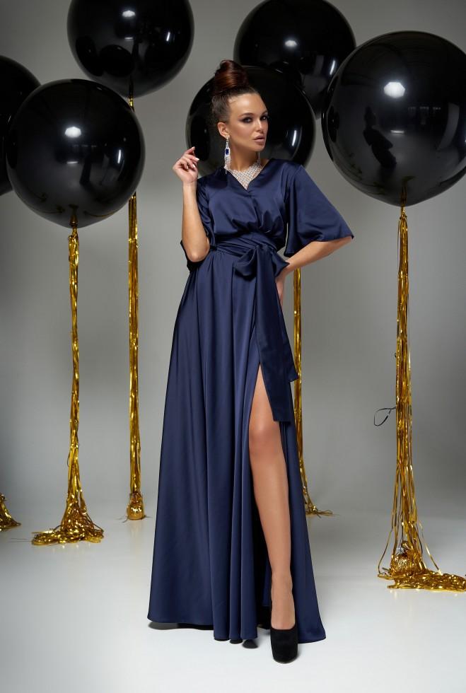 Платье Ариада тёмно-синий Жадон