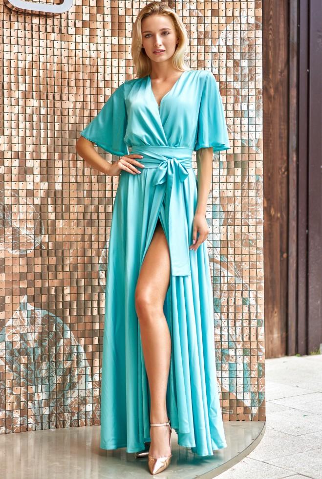 Платье Ариада бирюзовый Жадон