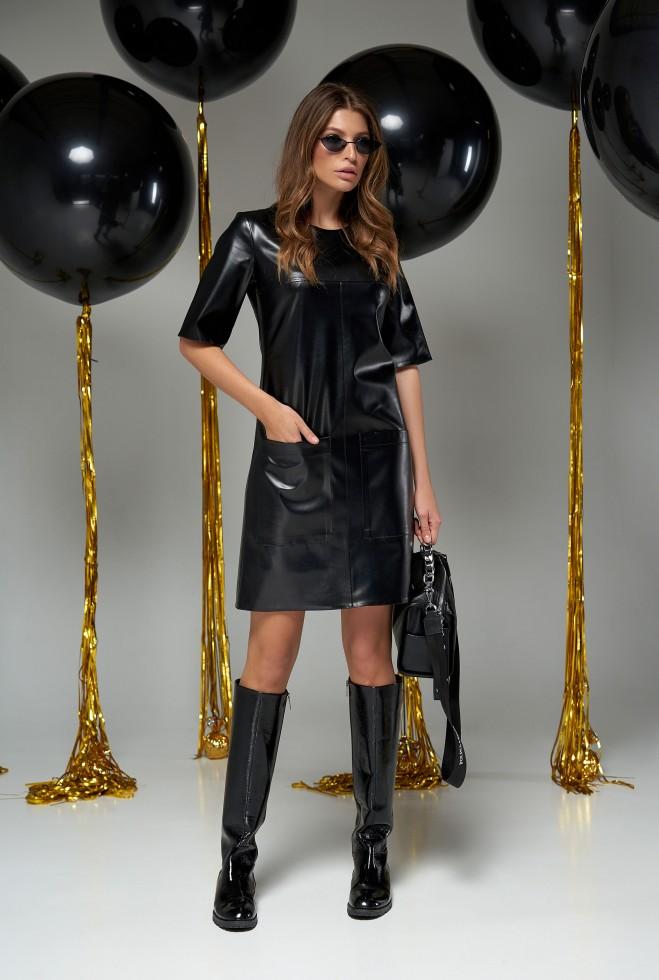 Платье Брук черный Жадон