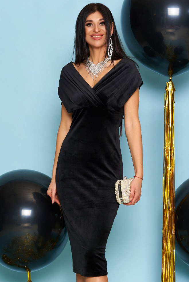 Платье Лилия черный