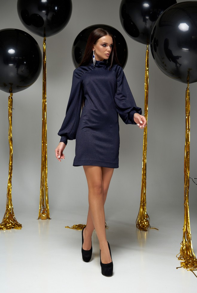 Платье Холли тёмно-синий