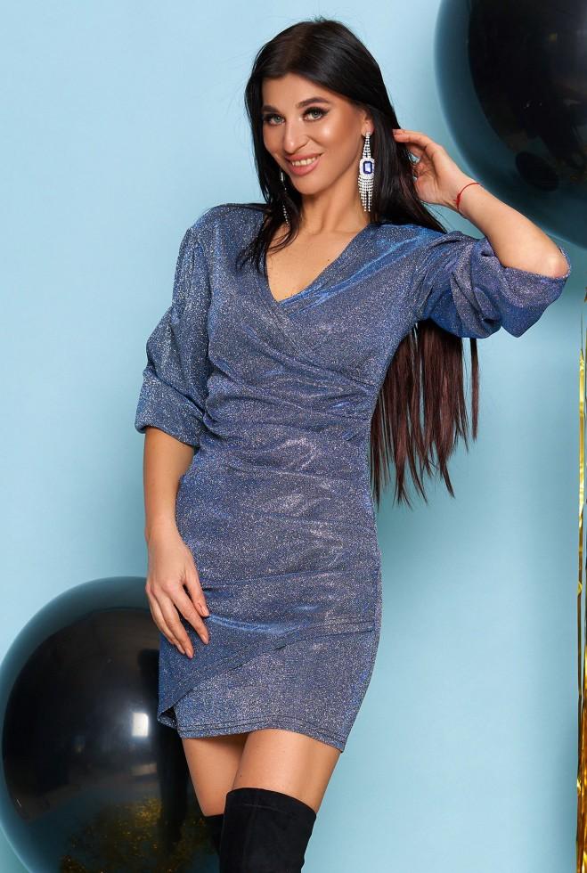 Платье Майя тёмно-синий