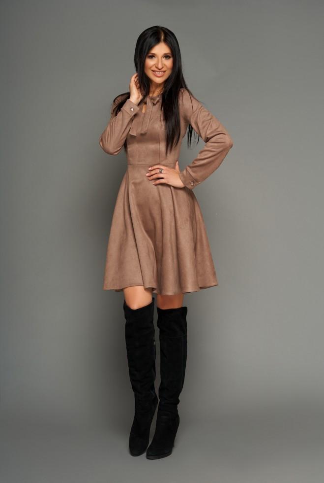 Платье Хайди Шоколад