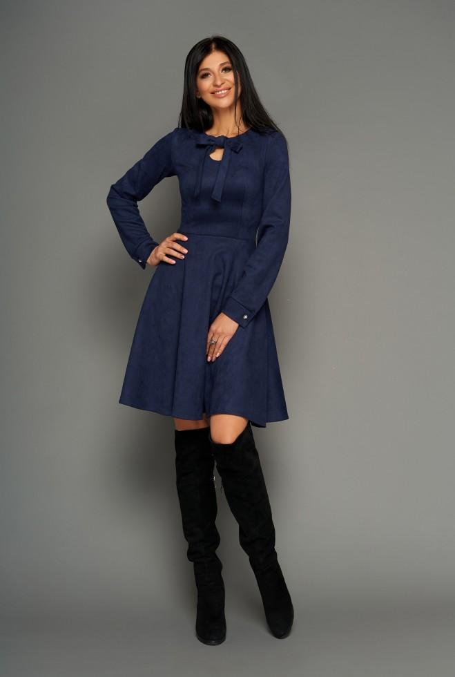 Платье Хайди тёмно-синий Жадон