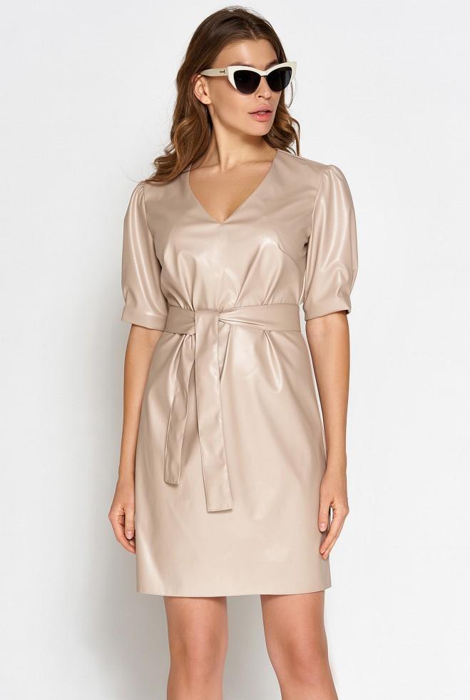 Платье Марта бежевый