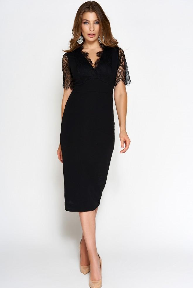 Платье Менди черный