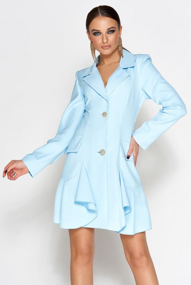 Платье Рита голубой