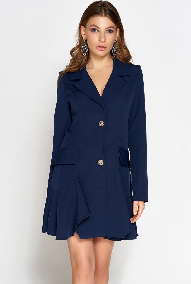 Платье Рита тёмно-синий Жадон