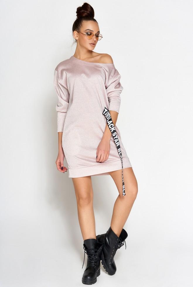 Платье-туника Эстер розовый