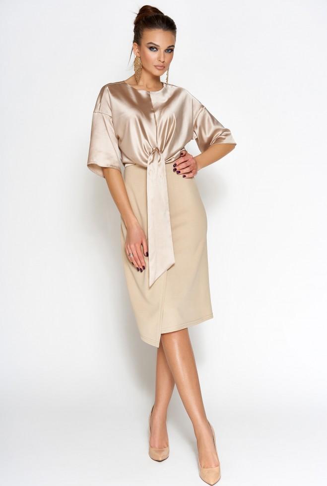 Платье Этель бежевый