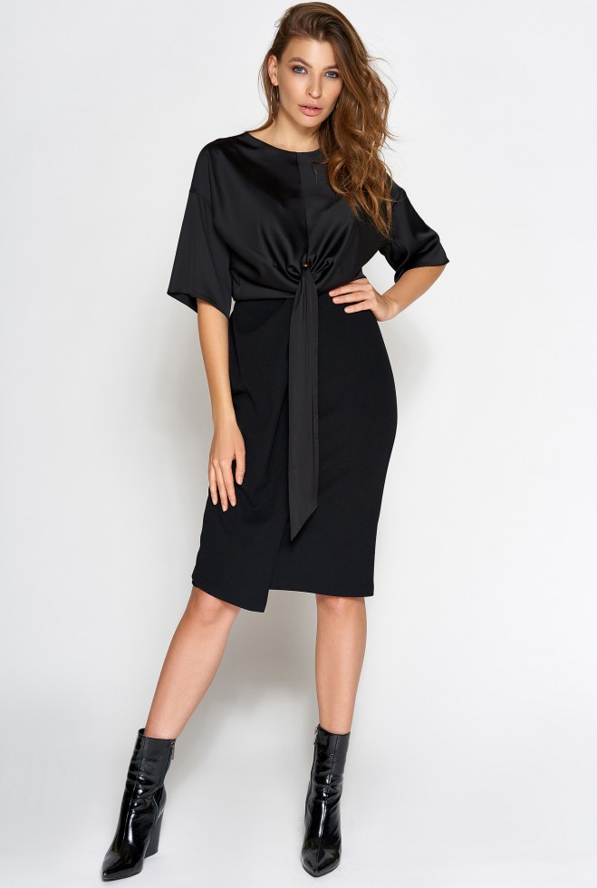 Платье Этель черный