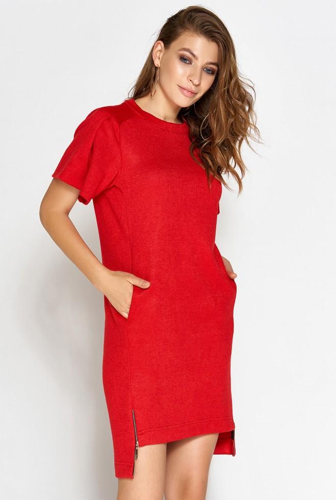 Платье Темми красный