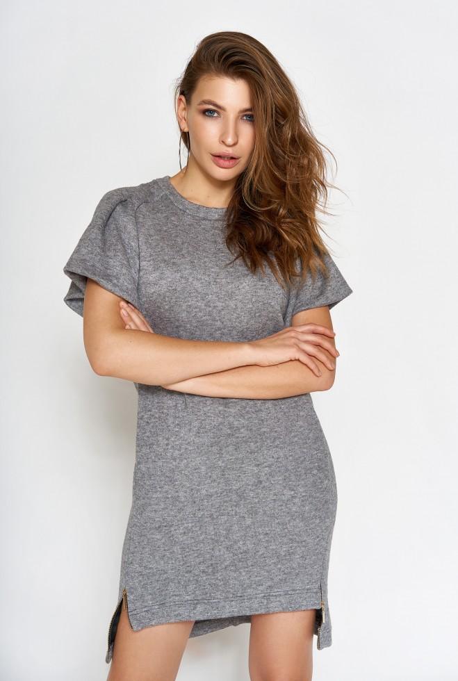 Платье Темми серый