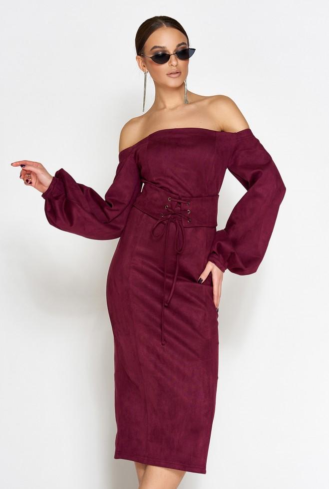 Платье Кристал слива
